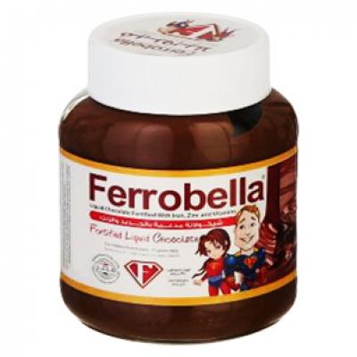 Ferrobella Fortified Liquid Choclate ( Iron + Zinc + Vitamin B1 B2 B3 B5 B 6 B7 B 8 B9 B12 + Beta Carotene + Vitamin C + Vitamin E ) 200 gm