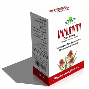 Immunvita 4.7 gm / 25 ml Syrup ( Echinacea purpurea root Extract ) Bottle 25 ml