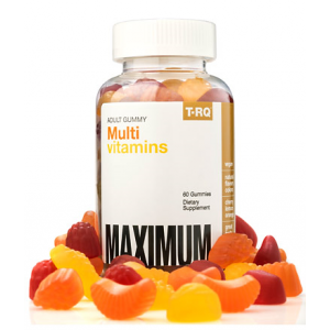 MultiVitamin and Mineral 100 % Maximum Dietary Supplement T-RQ 60 gummies