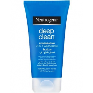 Neutrogena ® Deep Clean ® Invigorating 2-in-1 Face Wash Mask 150 mL