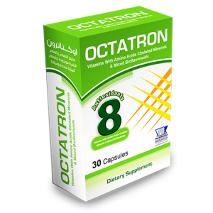 Octatron Vitamins with Amino acids Chelated Minerals & Mixed Bioflavonoids 20 capsules