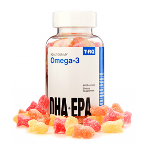 Omega - 3 T.RQ Brain Booster with DHA + EPA 60 gummies