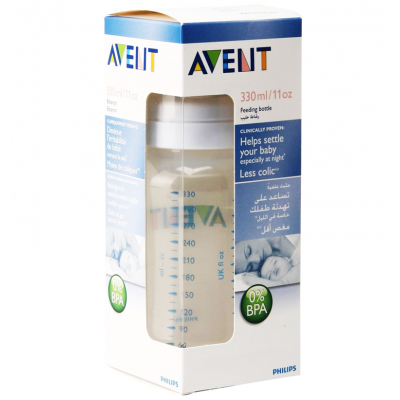 Avent Philips Classic baby bottle Less Colic SCF686/61 330ml / 11oz