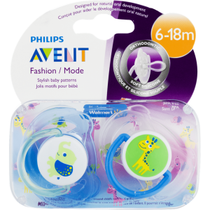 Avent Philips Fashion Pacifiers 6-18 months