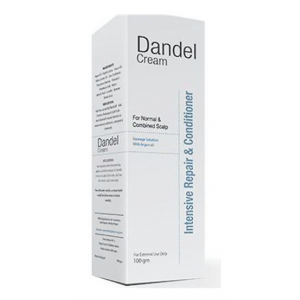 Dandel Cream Intensive Repair & Conditioner Anti-Dandruff for combined Scalp 100 gm