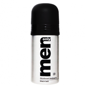 Men Only Deodorant Body Spray Black Belt 150 ml