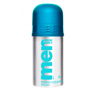 Men Only Deodorant Body Spray Blue Gem 150 ml