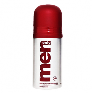 Men Only Deodorant Body Spray Body Heat 150 ml