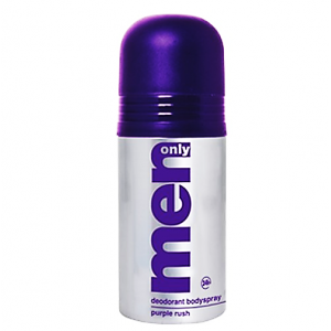 Men Only Deodorant Body Spray Purple Rush 150 ml