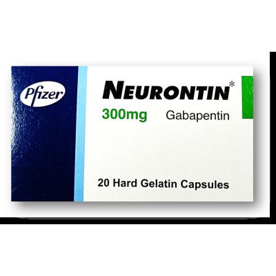 NEURONTIN 300 mg ( Gabapentin ) 20 capaules
