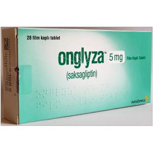 Onglyza 5 mg ( Saxagliptin ) 30 film-coated tablets