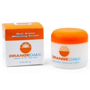 OrangeDaily Dual Action Skin Whitening Cream 57gm / 2oz
