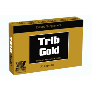 TRIB GOLD 250 mg ( Tribulus Terrestris Extract ) 30 capsules