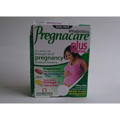 vitabiotics pregnacare plus omega-3 300mg