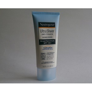 neutrogena ultra sheer dry_touch sun screen
