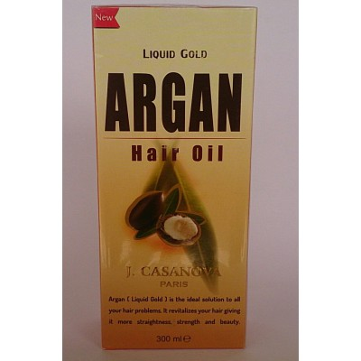 argan hair oil liquid gold  300ml