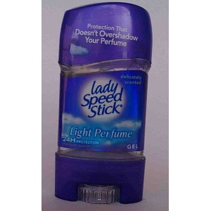 lady speed gel light perfume delicately scented 65g